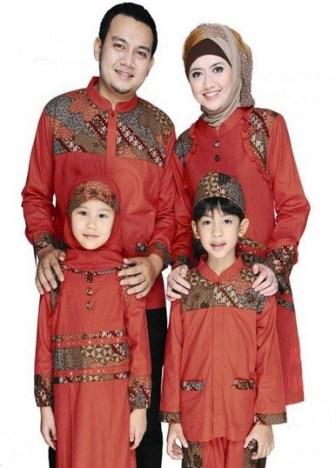 Model Pakaian muslim keluarga Terbaru
