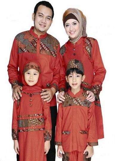 model baju batik seragam ibu dan anak perempuan terbaru