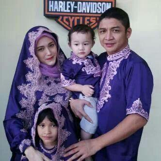 Desain Baju muslim keluarga Terbaru