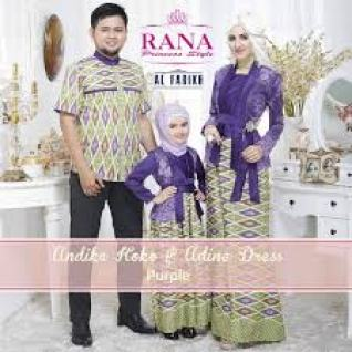 Contoh Baju muslim keluarga Terbaru