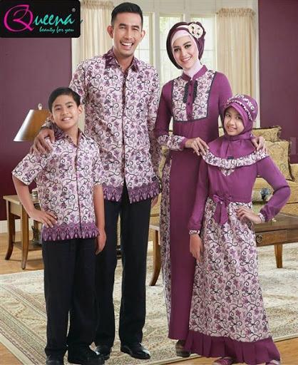 Model Baju Muslim Sarimbit Keluarga Plus Anak Terbaru
