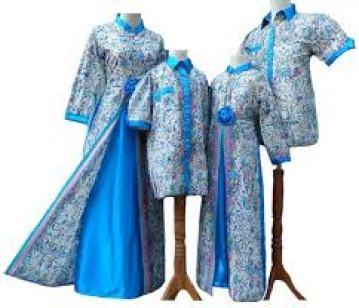 model Pakaian batik Seragam keluarga Modern terbaru