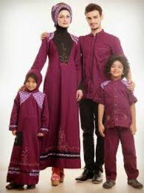 Model Baju Lebaran Seragam Keluarga Terbaru