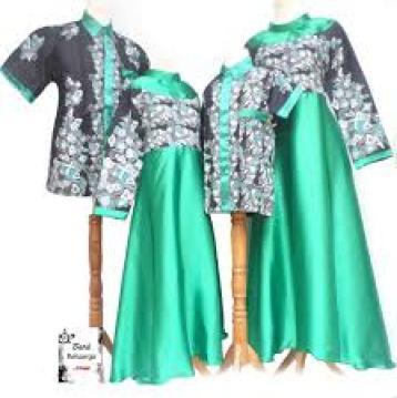 Model Baju Muslim Couple Keluarga Plus Anak Terbaru