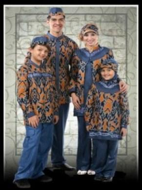 Model Baju Pasangan Pesta Suami Istri dan Anak Terbaru