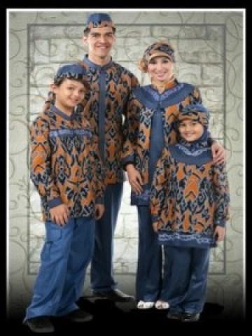 model pakaian Batik untuk lebaran terbaru