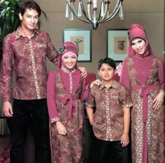Model Baju Muslim Keluarga untuk Pesta Terbaru