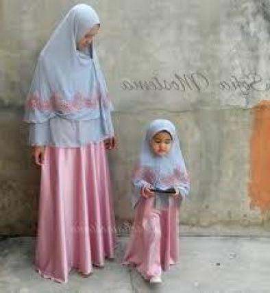 Model Long Dress Couple Ibu dan Anak Perempuan Terbaru
