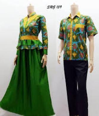 model baju couple Kondangan Untuk Anak Muda Terbaru