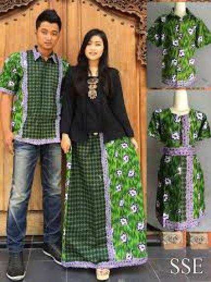 desain baju mama papa modern