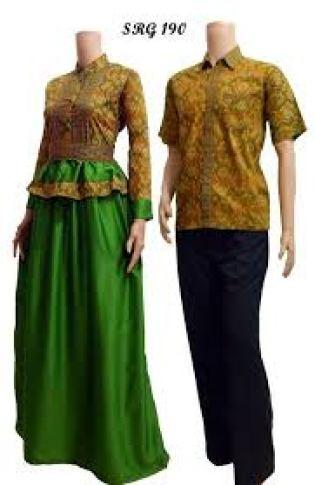 Baju Batik Muslim Untuk Pesta Keluarga