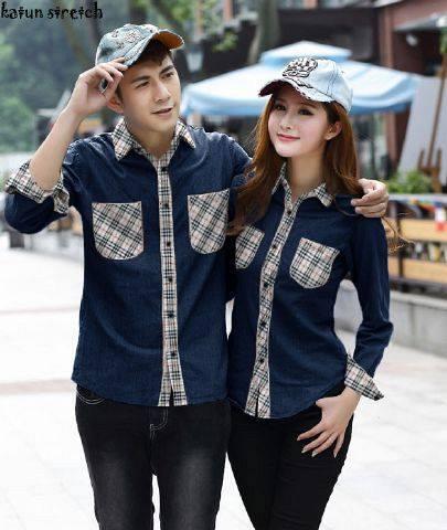 Model Baju kembaran pasangan kekasih Terbaru