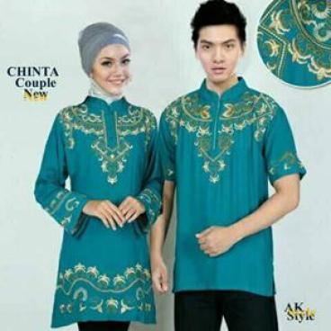 Model Baju Muslim Seragam Keluarga Untuk Lebaran Terbaru