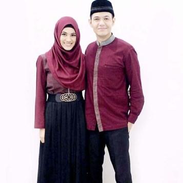 Model Baju Lebaran Couple Pasangan Artis Terbaru