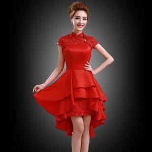 model Gaun pesta Brokat Mewah Terbaru