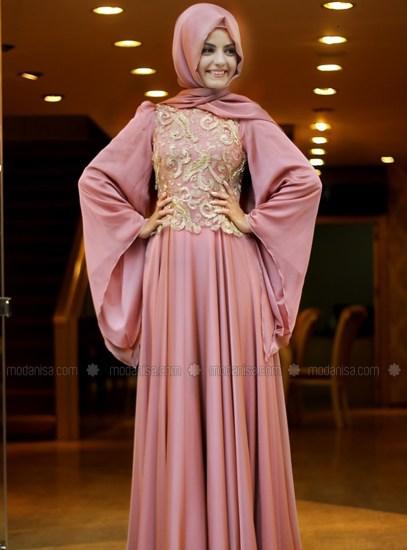 Model Baju Gamis lebaran Remaja Terbaru