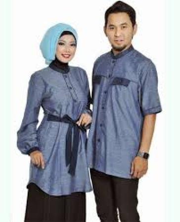 Model Busana Couple Batik Keluarga Modern