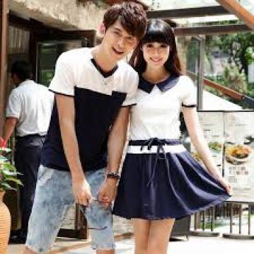 Model Baju Couple pasangan dengan Pacar Terbaru