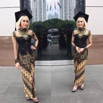 Model Baju Muslim Kebaya Modern Terbaru