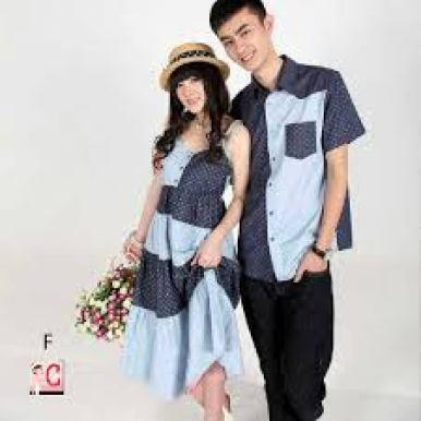 Model pakaian kembar pasangan kekasih Terbaru