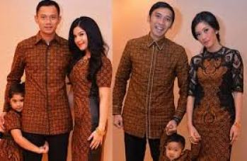Model Baju Seragam Batik Keluarga untuk Pernikahan Terbaru