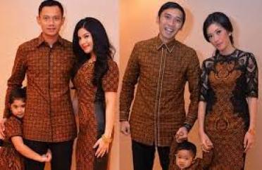 Model Baju Lebaran Artis Keluarga Terbaru