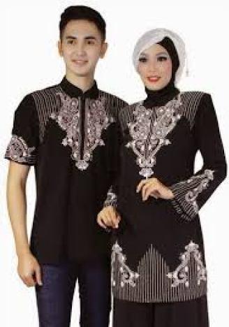 Model Baju Couple Kondangan Anak Muda Lengan Pendek Terbaru