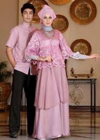 Model Baju Muslim Couple Keluarga Untuk Lebaran