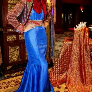 Model Baju Dress Brokat Panjang Untuk Pesta Terbaru