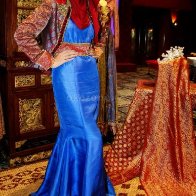 Model Baju Muslim Dian Pelangi Untuk Lebaran Terbaru