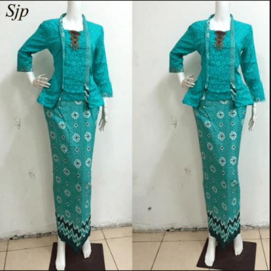 Model Setelan Batik Wanita muda Terbaru
