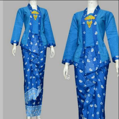 Model Baju Batik Seragam Kerja Terbaru