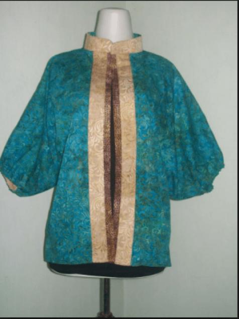 model baju batik Wanita untuk ke kantor terbaru