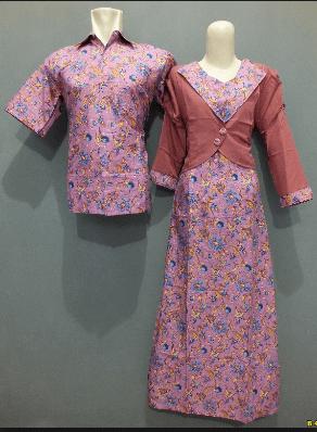 Desain Baju Batik Couple Keluarga untuk Pernikahan Terbaru