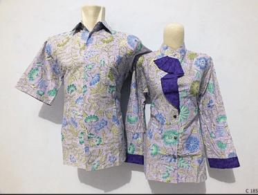 Baju Seragam Batik Solo untuk Kantor