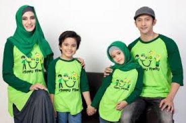Contoh kaos family