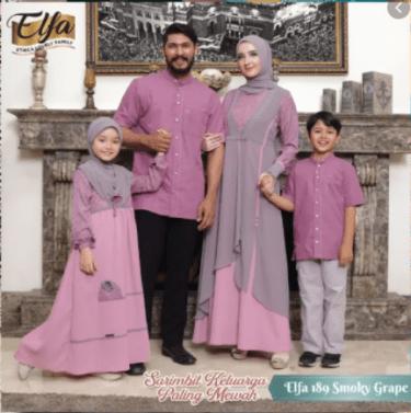 Model Baju Muslim Family Set Terbaru