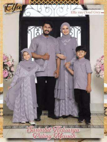 Baju seragam pernikahan keluarga terbaru