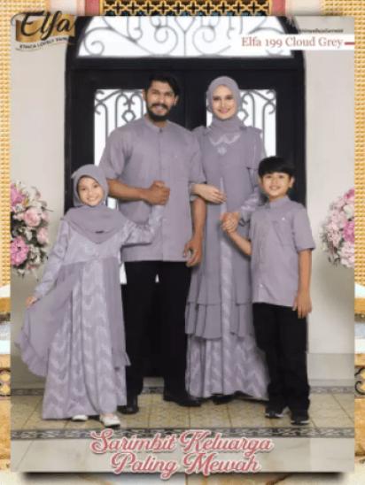 Gamis couple keluarga terbaru