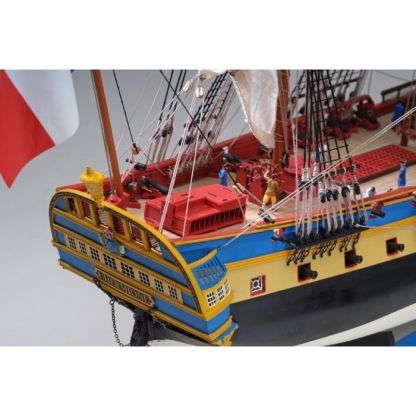 Maqueta de barco en madera: NEW Hermione Lafayette
