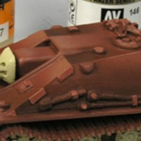 Painting red primer in German tanks – Part I