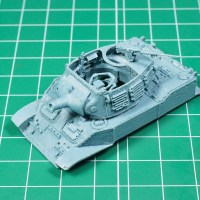 1/72 Light tank M5 Stuart upgrades