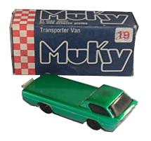 Muky Nr. 19: Transporter Van
