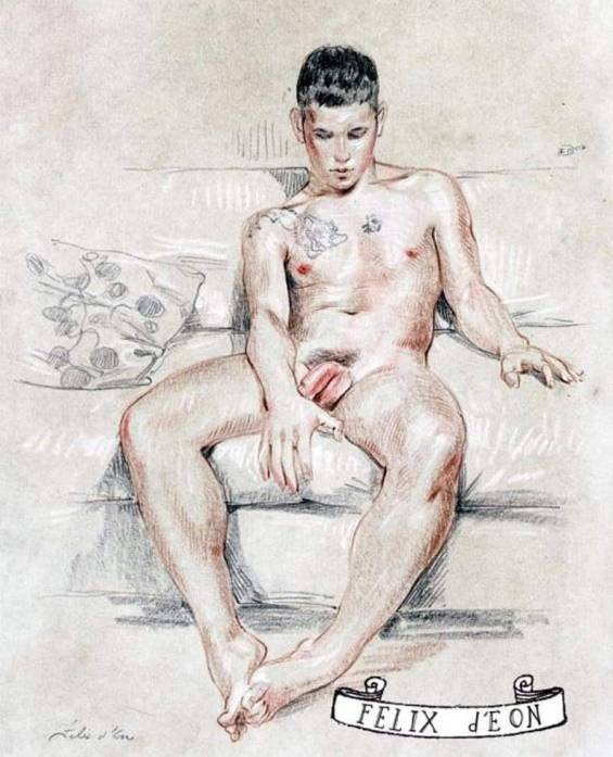 Modèle masculin du jour 1
