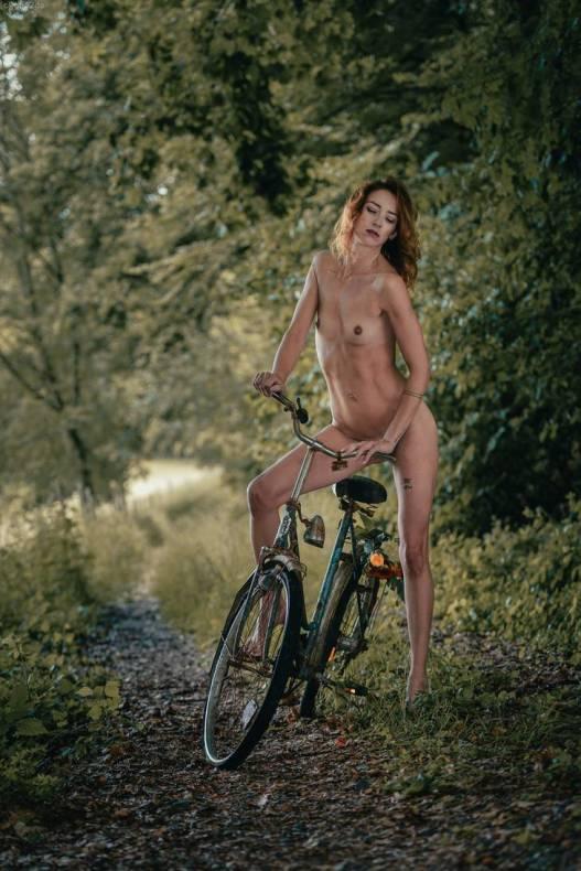 Sur ma vieille bicyclette