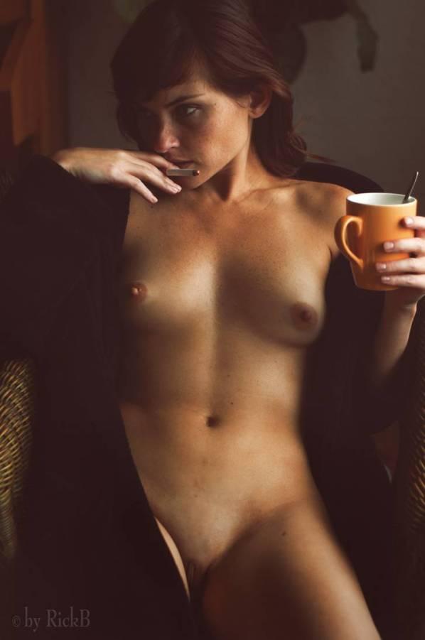 En prenant mon café