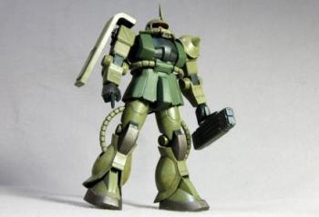 FG MS-06F ザク2 制作08(完成)