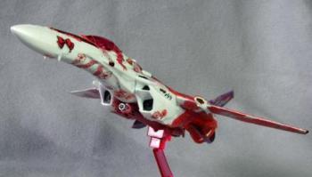 マクロスF VF-25F シェリルマーキングVer 制作07 完成