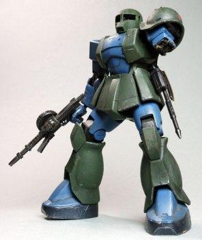 HGUC 1/144 MS-05B 旧ザク製作04