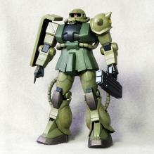 FG MS-06F ザク2 制作06